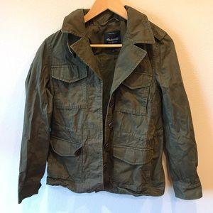 Madewell green army jacket